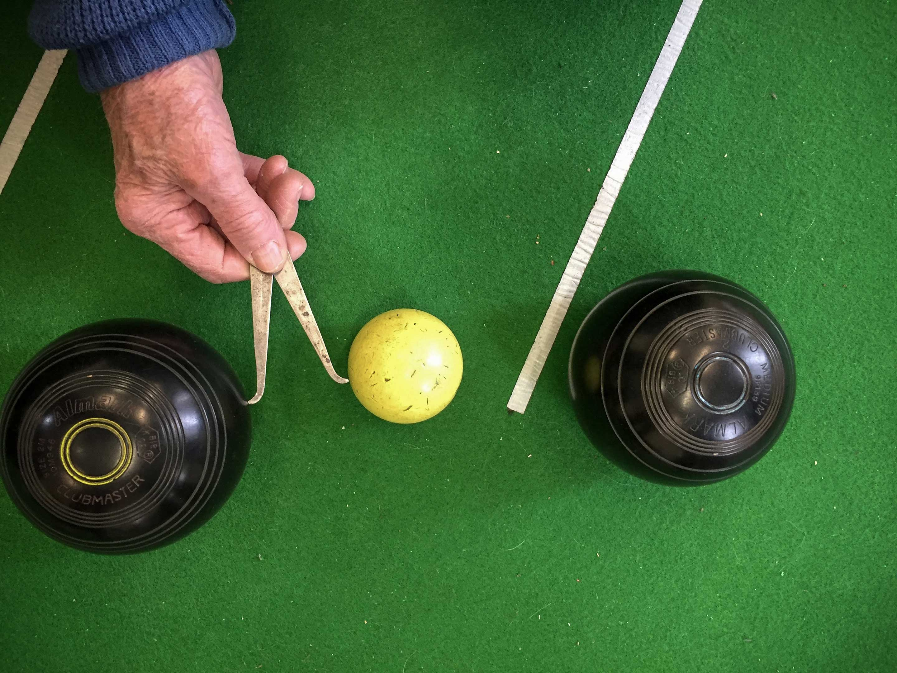 Indoor bowls at Avonmouth Community Centre