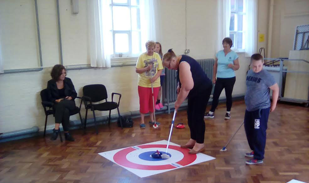 Indoor Curling at Avonmouth Community Centre